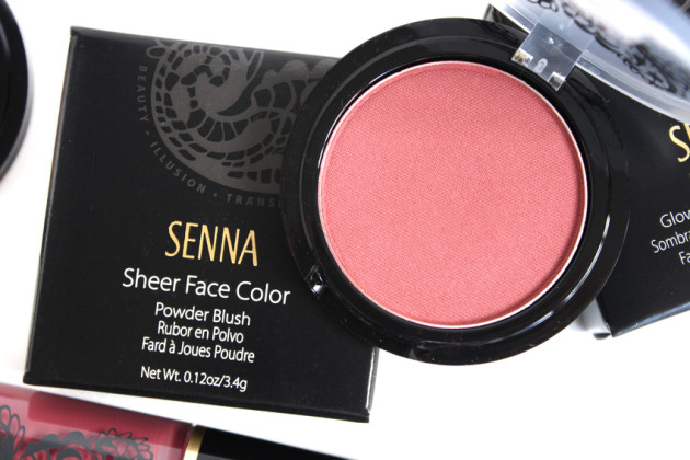 Senna Mulberry Sheer Face Colour blush review