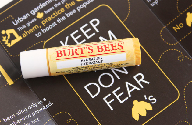 Burt's Bees Coconut & Pear lip balm review