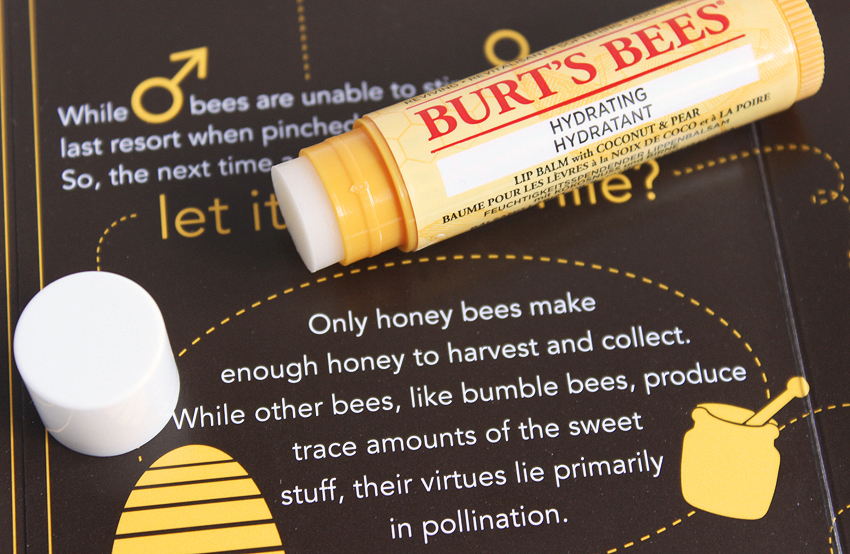 dc4b1984c theNotice - Burt s Bees Hydrating Lip Balm with Coconut and Pear ...