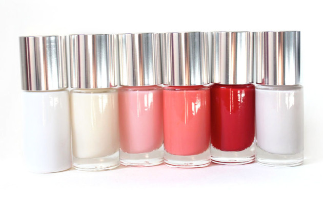 Clinique A Different Nail Enamel review swatches
