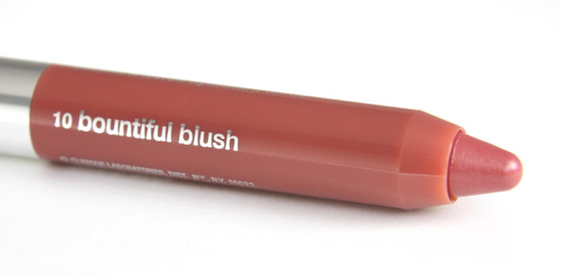 Clinique Bountiful Blush swatch Chubby Stick review