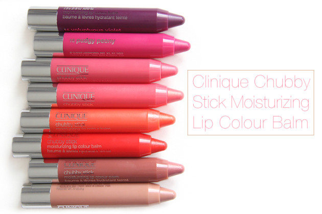 Clinique Chubby Stick review swatches