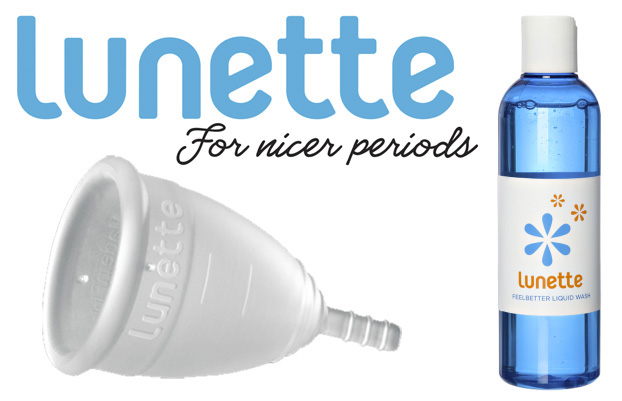 Lunette cup wash giveaway