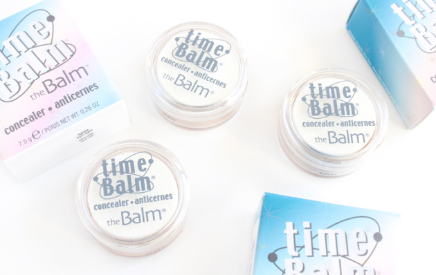 theBalm timeBalm concealers