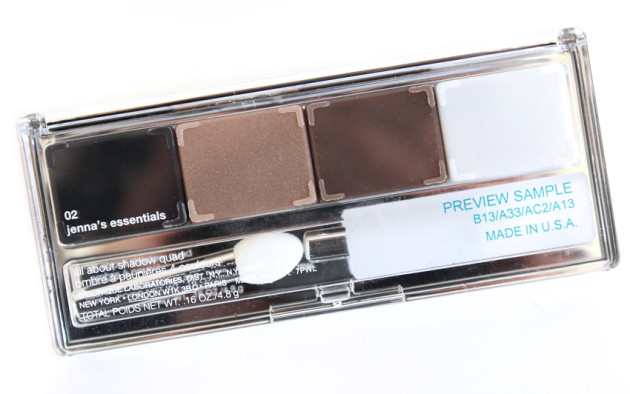 Clinique All About Shadow quad packaging