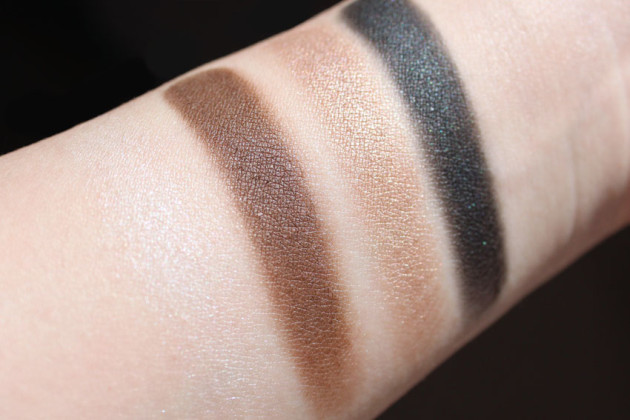 Clinique All About Shadow swatches Jenna's Essentials