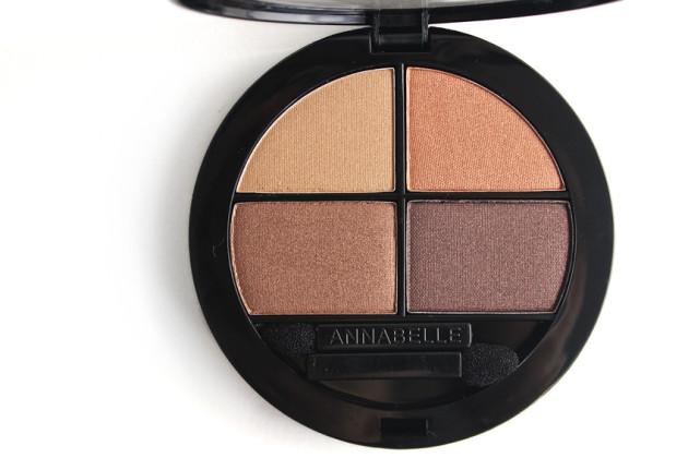 Annabelle Chai Eyeshadow Quad review