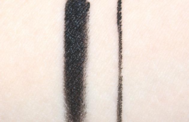 Annabelle Glitzy Black swatch SmudgePaint gel liner
