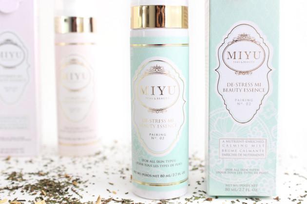 MIYU Beauty De-Stress Mi Beauty Essence review serum mist