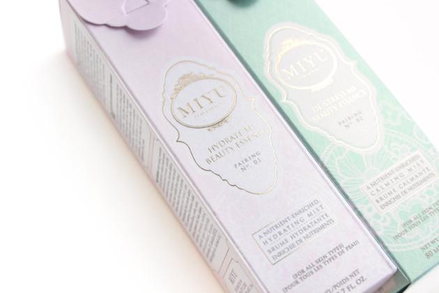 miyu beauty essence pairing reviews, tea