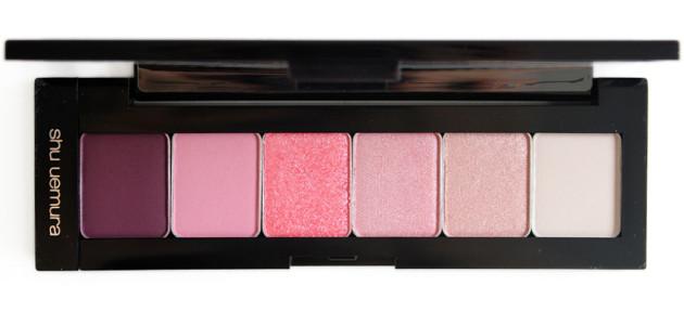 shu uemura pink hues eyeshadow palette review
