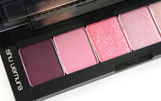 shu uemura pink hues eyeshadow reviews