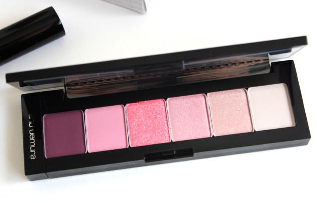 shu uemura pret a palette pink hues review