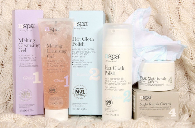 NSPA review giveway hot cloth polish melting cleansing gel