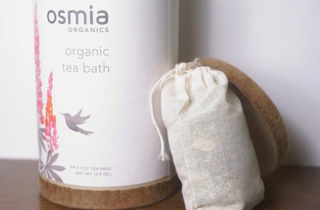 Osmia Organics Organic Tea Bath review