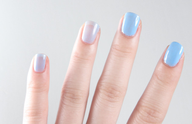 Sally Hansen OMGel nail polish review