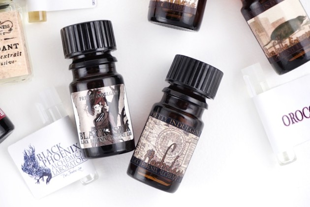 BPAL Black Silk Hochelaga review Pretty Indulgent