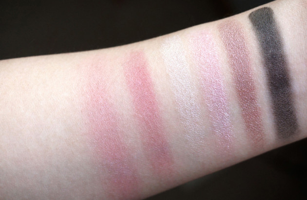 Clinique Snowflake Suite Plie Pink swatches review The Nutcracker