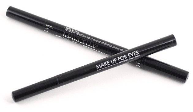 Marcelle Double Precision pen liner review MUFE Graphic Liner