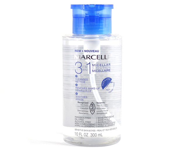 Marcelle 3 in 1 Micellar Solution review makeup remover