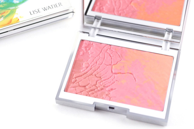 Lise Watier Expression Blush Trio review swatch