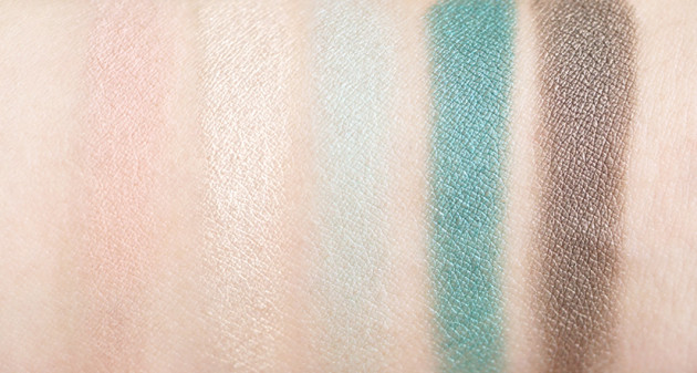 Lise Watier Expression Eyeshadow Palette swatches review