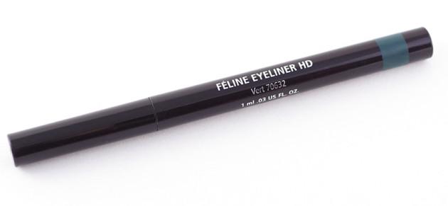 Lise Watier Feline Eyeliner HD Vert review swatch