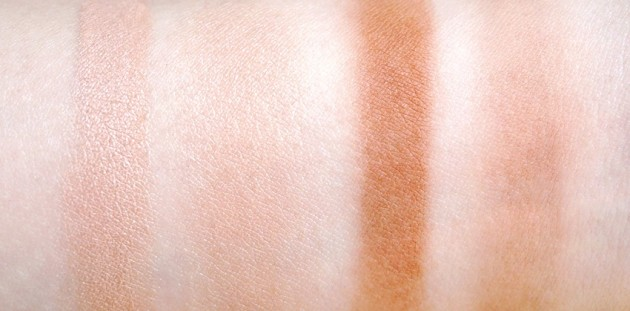 Rodial Instaglam Illuminating, Bronzing powder swatches reviews