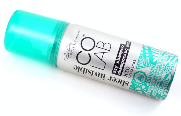 CoLab Rio dry shampoo review