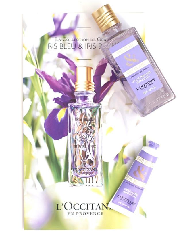 L'Occitane Iris Bleu & Iris Blanc