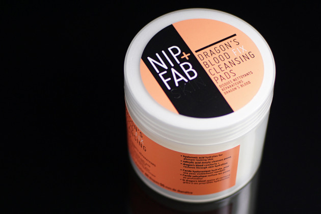 Nip + Fab Cleansing Pads review - Dragon's Blood