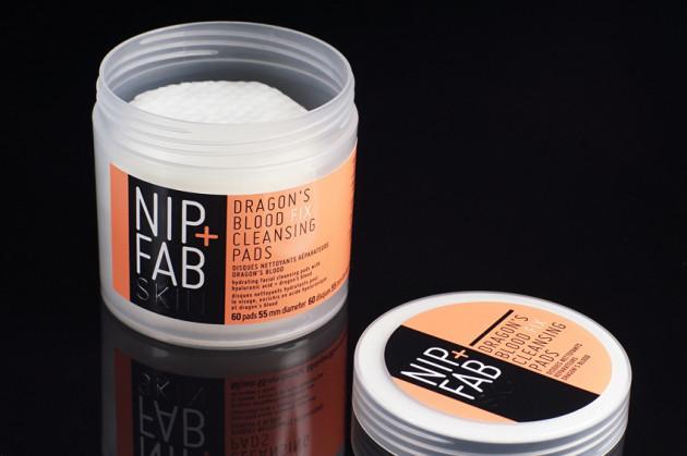 Rodial Nip Fab Dragon's Blood peel cleansing pads