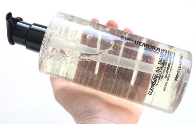 Shu Uemura Cleansing Oil Shampoo 400 ml size review