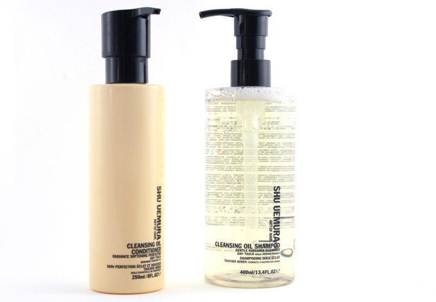 Shu Uemura Cleansing Oil Shampoo Airy Touch, conditioner review