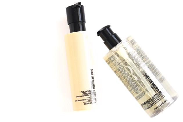 Shu Uemura Cleansing Oil Shampoo Conditioner review