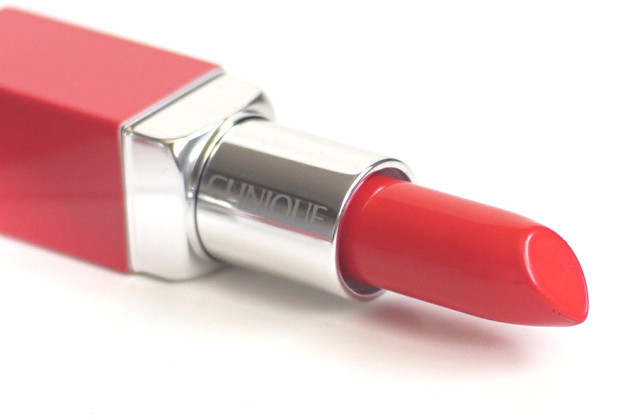 Clinique Poppy Pop swatch review lip color primer