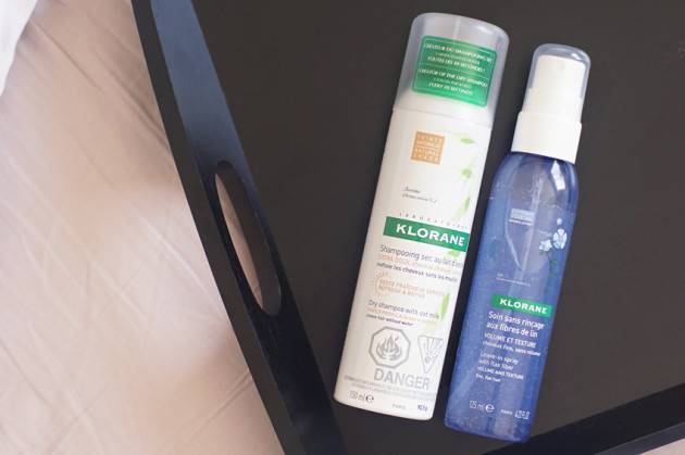 Klorane dry shampoo leave in spray review