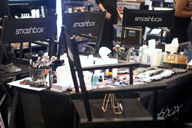 Smashbox makeover event recap