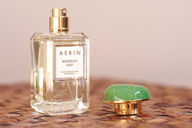 Aerin Waterlily Sun perfume review photos