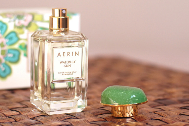 Aerin perfume review - Waterlily Sun