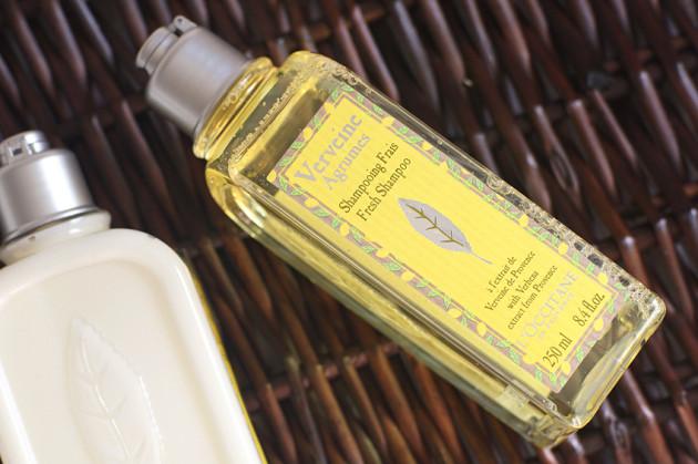 L'Occitane Verveine Agrumes Fresh Shampoo review photos