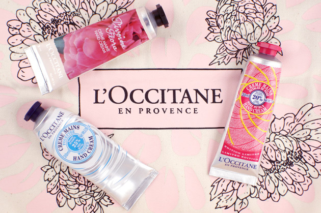 L'Occitane hand cream favourites