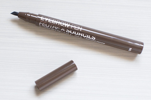 Marcelle Eyebrow Pen review swatches Universal Dark