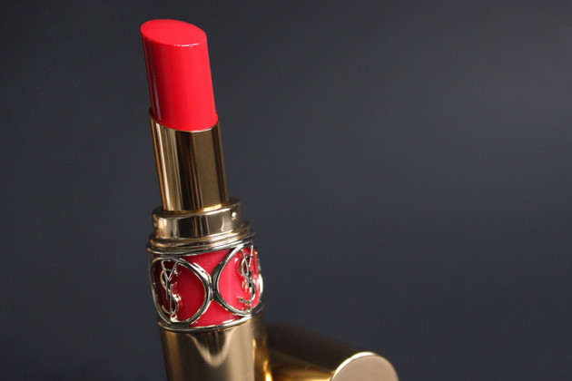 YSL Coral Incandescent review Rouge Volupte Shine