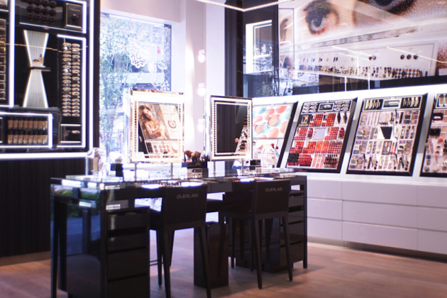 Guerlain Toronto Boutique makeup review