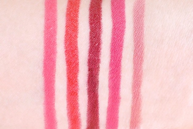 Maybelline Color Blur Cherry Cherry Bang Bang review swatches