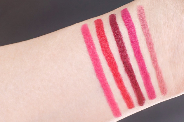 Maybelline Color Blur My My Magenta review swatches photos