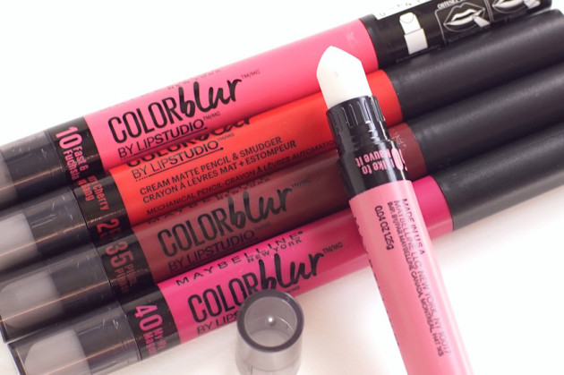 Maybelline Color Blur photos swatches review