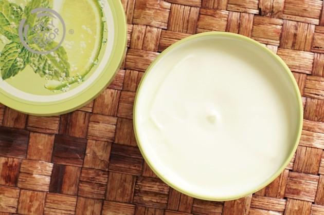 The Body Shop Virgin Mojito Body Butter review photos
