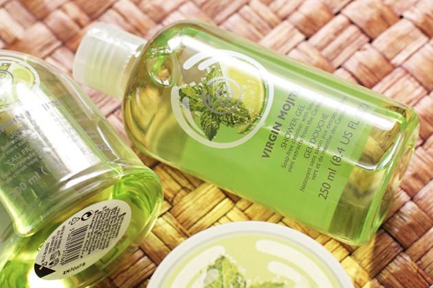 The Body Shop Virgin Mojito Shower Gel review photos